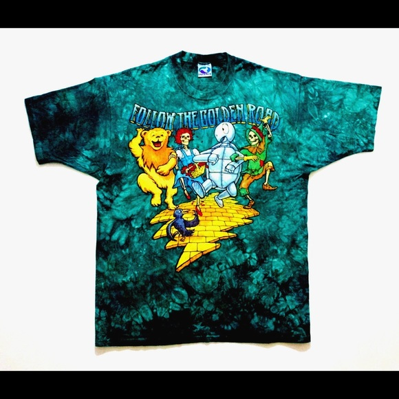 eb672d21ca4b Liquid Blue Shirts | Grateful Dead Rare Vintage Concert Tee 1994 ...